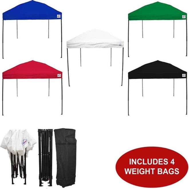 10x10 headway gazebo canopy tent with weight bags 210 denier top