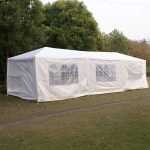 10x30 event white outdoor wedding party tent patio gazebo canopy w side walls