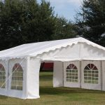 20 x 20 budget party tent canopy gazebo white