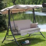 3 person swing with canopy home decor coppercreekgroup