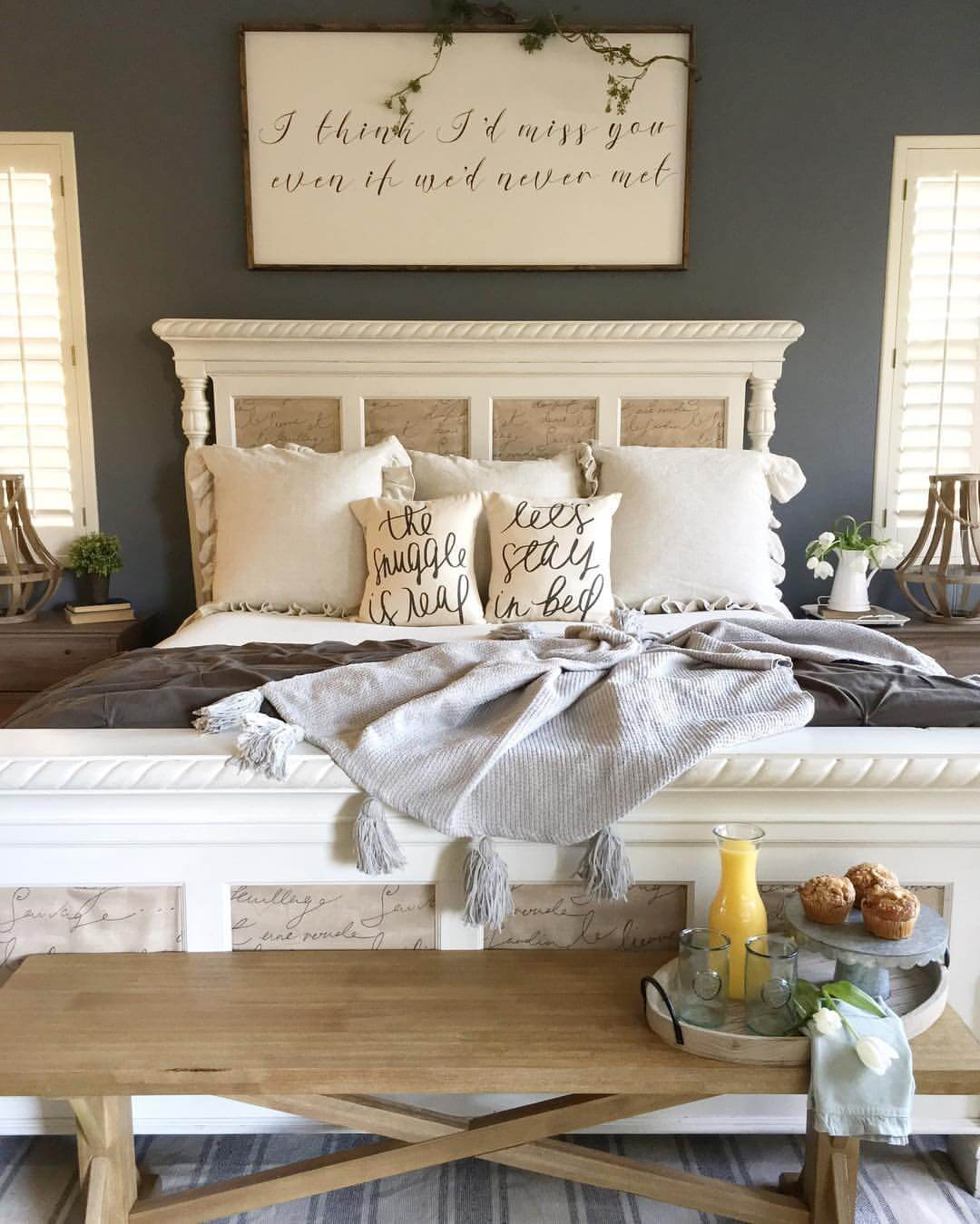 39 best farmhouse bedroom design and decor ideas for 2018