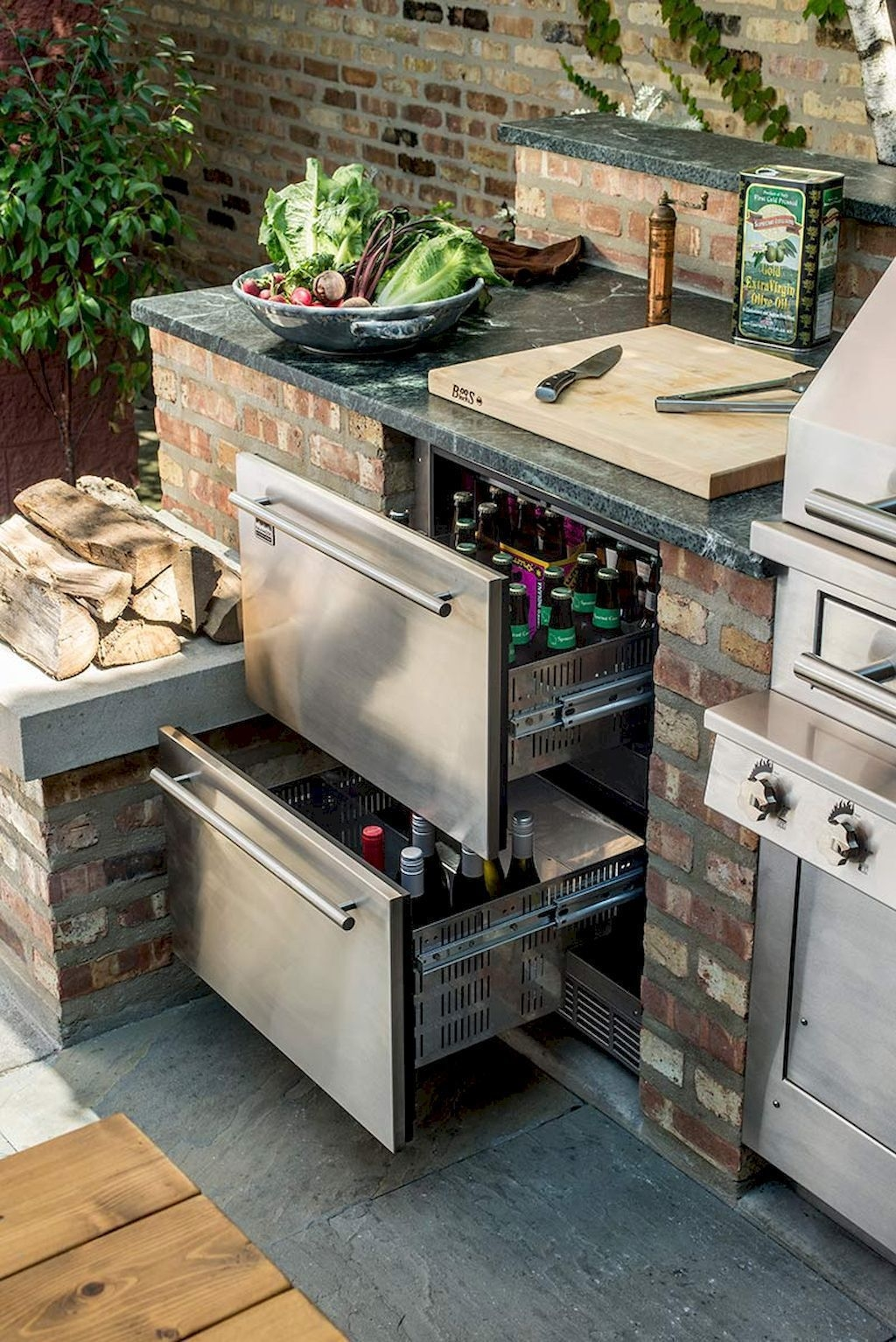 60 Amazing Diy Outdoor Kitchen Ideas On A Budget Outdoor Living Opnodes