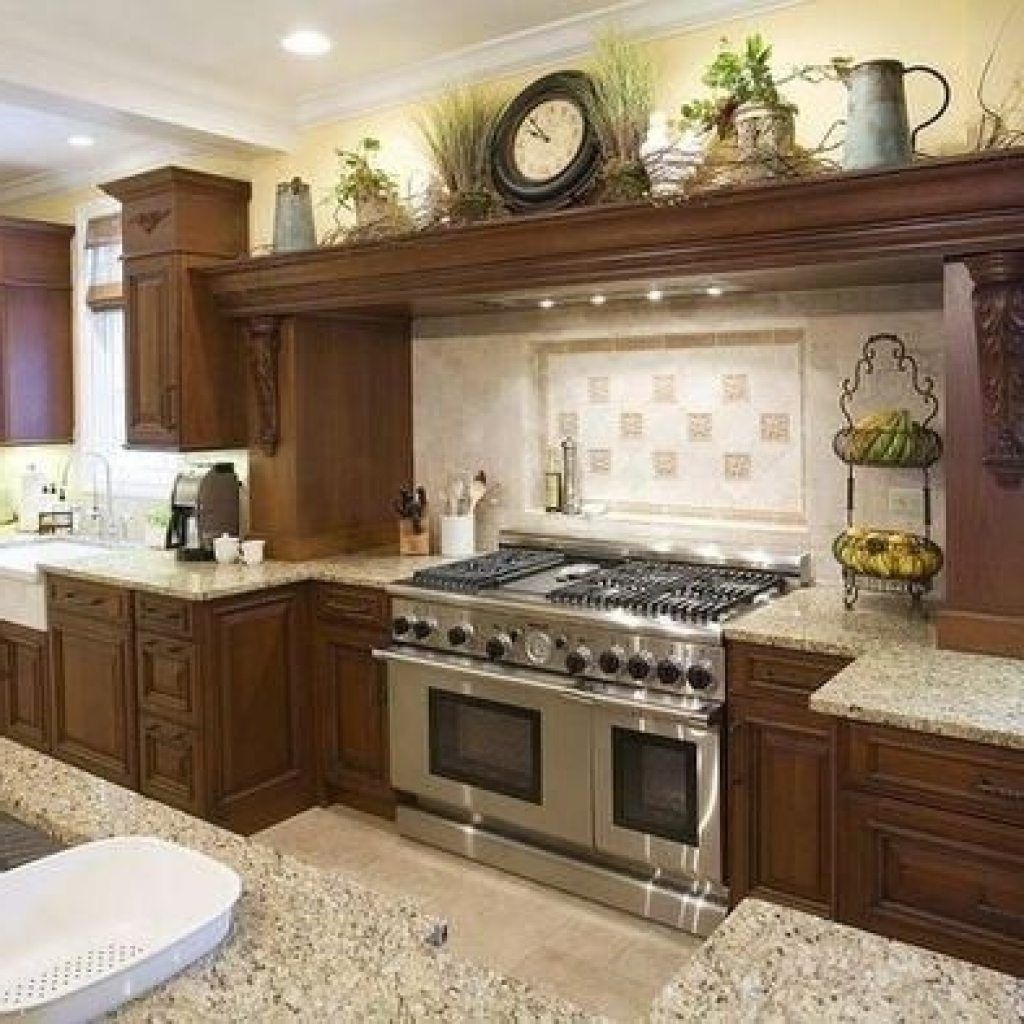 Decorating Ideas For Kitchen Cabinet Tops Opnodes