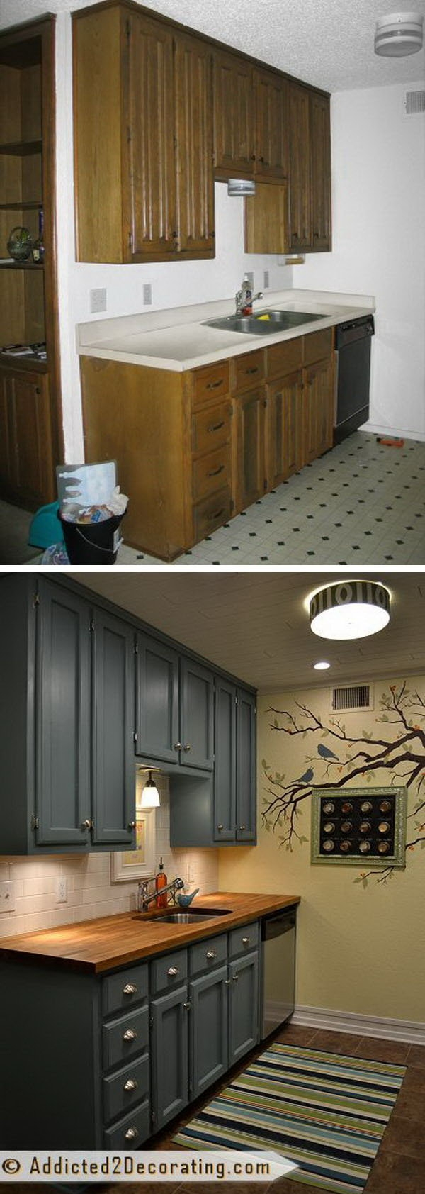 before and after 25 budget friendly kitchen makeover ideas hative
