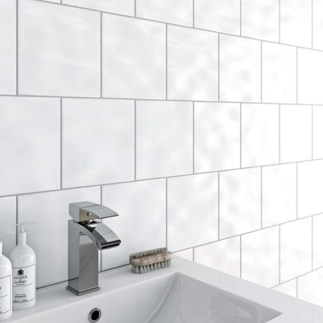 best value bumpy white tiles 20x20 in ireland at
