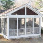 building a screened in porch manificent design cost to build