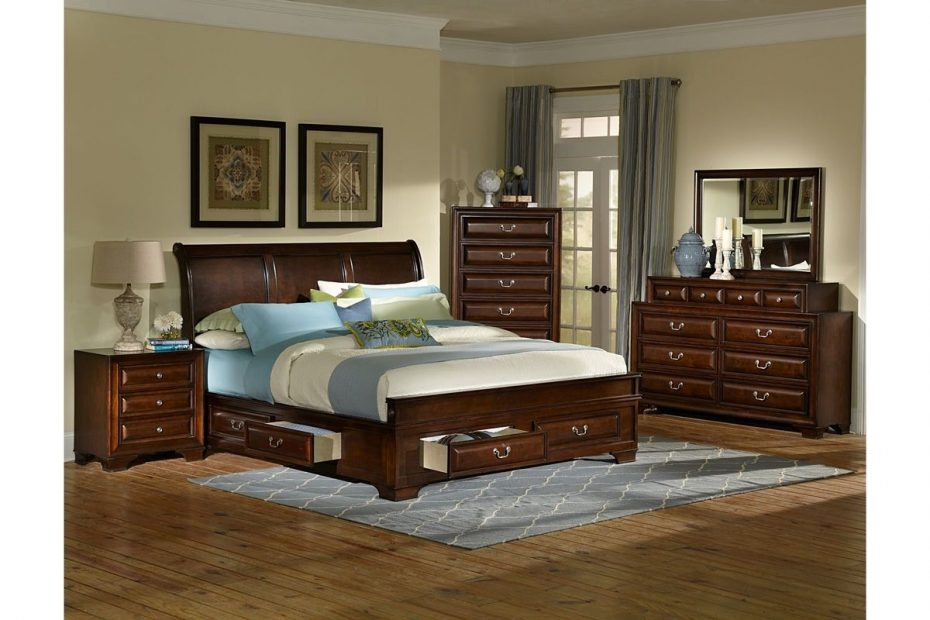 cadence 4 piece queen bedroom set