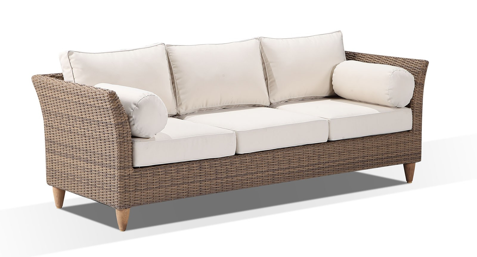 carolina 3 seater sommers outdoor lounge bay gallery furniture