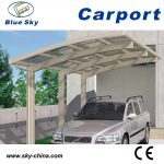 ce proved metal frame mobile aluminum carport with polycarbonate