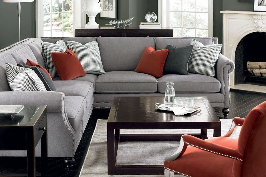 Living Room Decor Ideas With Dark Grey Couch Opnodes