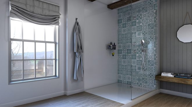 choose the perfect tile alternatives for your bathroom showerwall