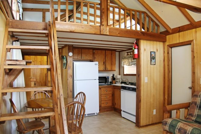 cottage with bedroom loft sea pirate campground