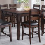 crown mark maldives counter height table wayside furniture pub