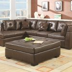 darie leather sectional sofa with left side chaise coaster at dunk bright furniture