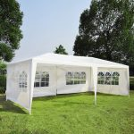 details about 10x20 party tent outdoor gazebo canopy wedding 4 removable walls upgrade white