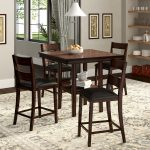 details about winston porter juno 5 piece counter height dining set