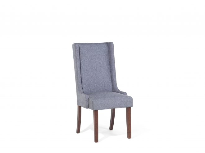 dining chair kitchen chair upholstered seat dark grey