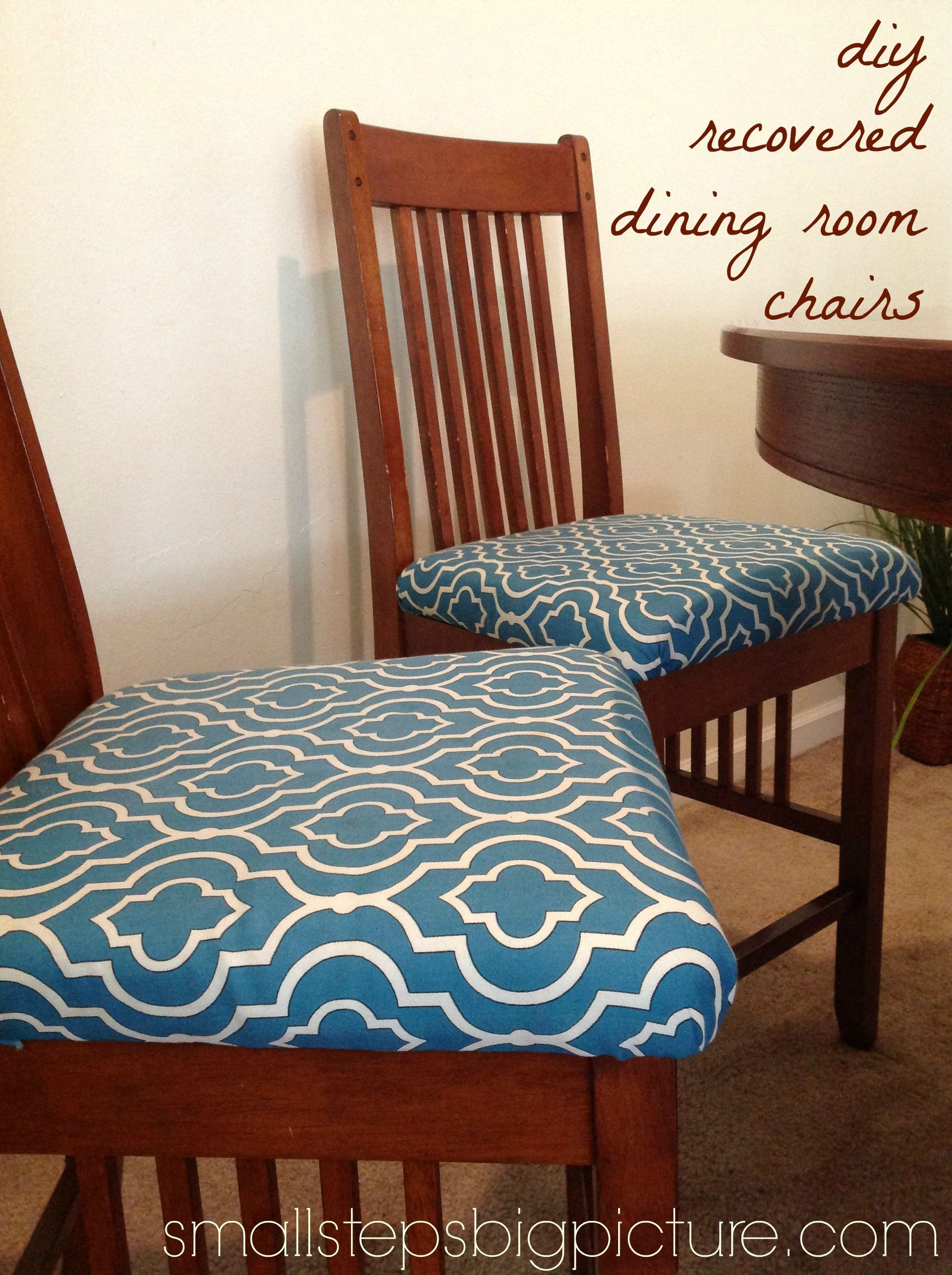 Recovering Dining Room Chair Cushions, New Foam For Dining Room Chairs