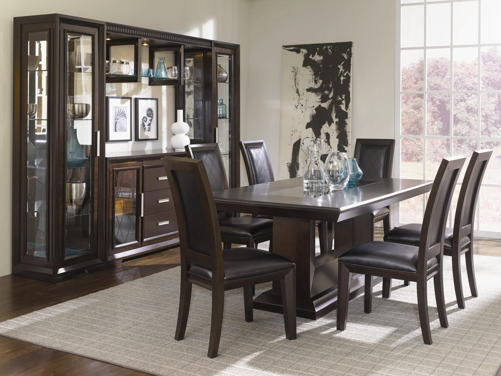 dining room set with china cabinet dining room decoration ideas