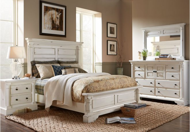 discount 6 piece king bedroom sets claymore park f white 8