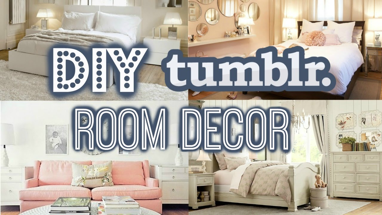 Diy Room Decor For Small Rooms Tumblr Inspired Summer 2016 Youtube Opnodes