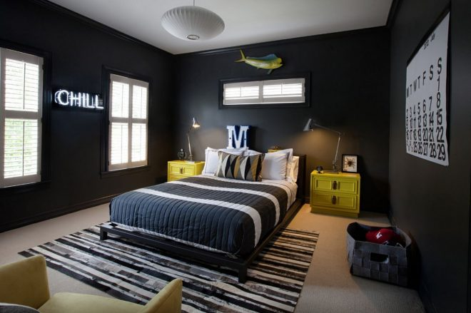 eye catching wall dcor ideas for teen boy bedrooms interior