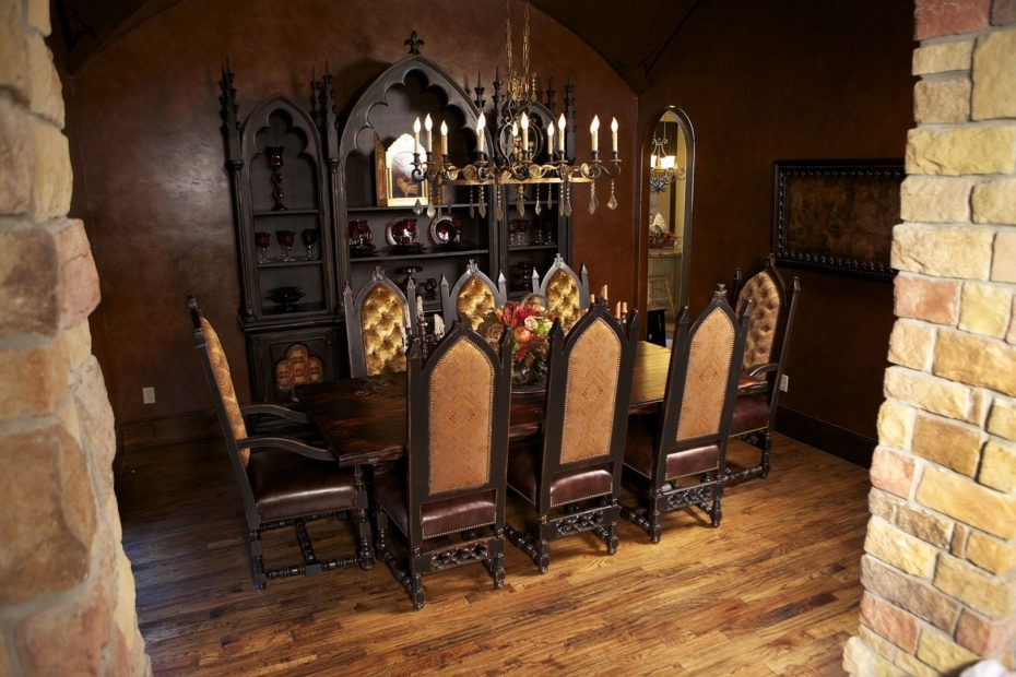 gorgeous gothic style dining room gothic house dining