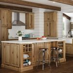 hampton cabinet accessories in natural hickory kitchen the home