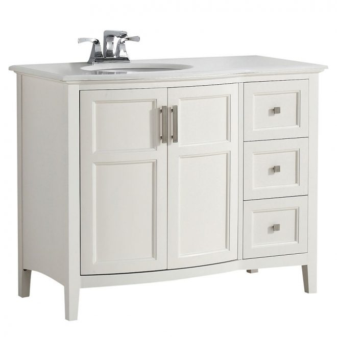 home depot 1652 winston 42 inch w rounded front vanity