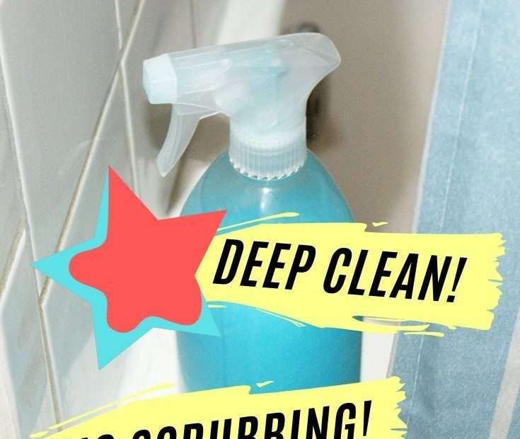 homemade shower cleaner recipe with dawn and vinegar