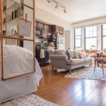 house tour a cute 400 square foot chicago studio apartment therapy