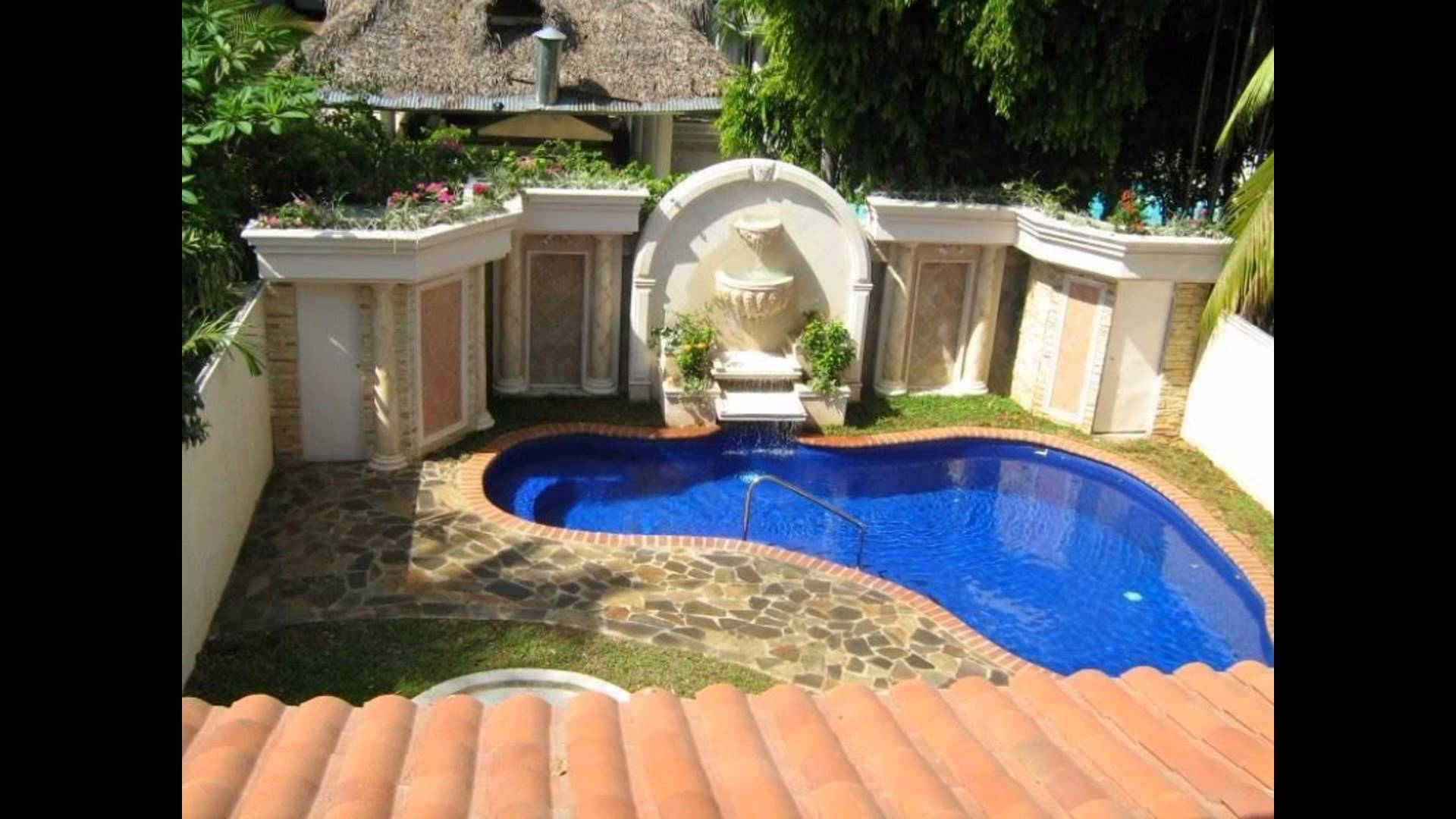 inground swimming pool designs for small backyards underground pools