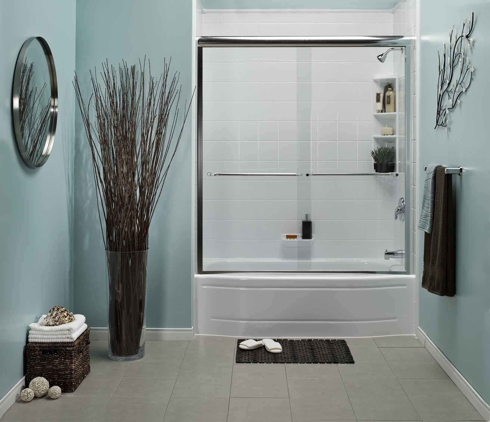 is blue the best bathroom color