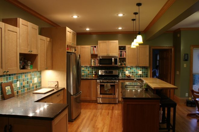 Awesome Kitchen Paint Colors With Maple Cabinets Opnodes