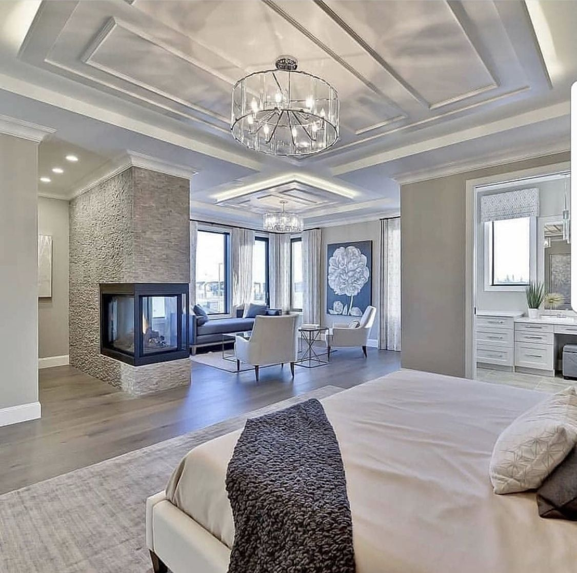 love this master bedroom and the decor in it luxury homes