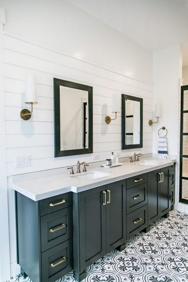 maximizing your bathroom design with these farmhouse style of