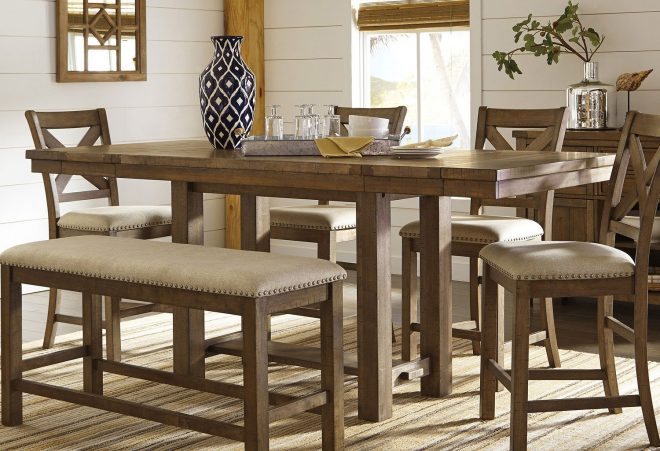 moriville counter height dining table signature design ashley