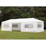 palm springs 10 x 30 party tent wedding canopy gazebo pavilion withside walls walmart