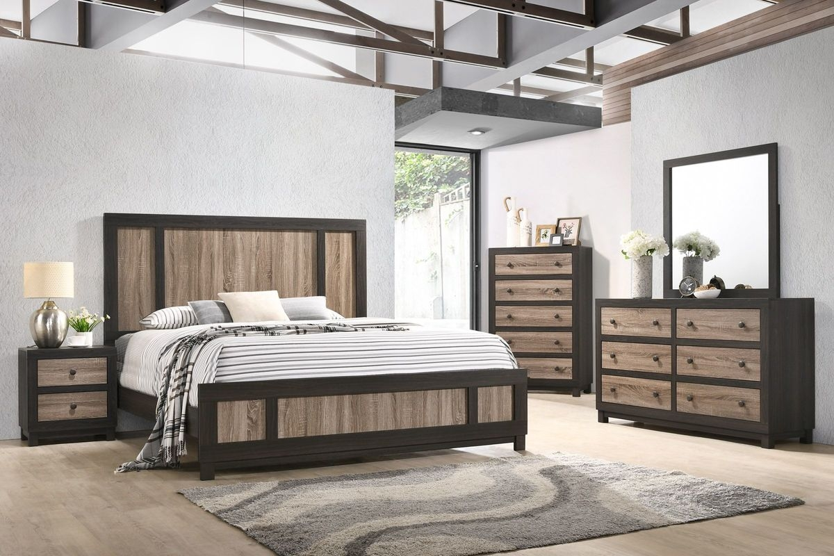 panama 5 piece queen bedroom set
