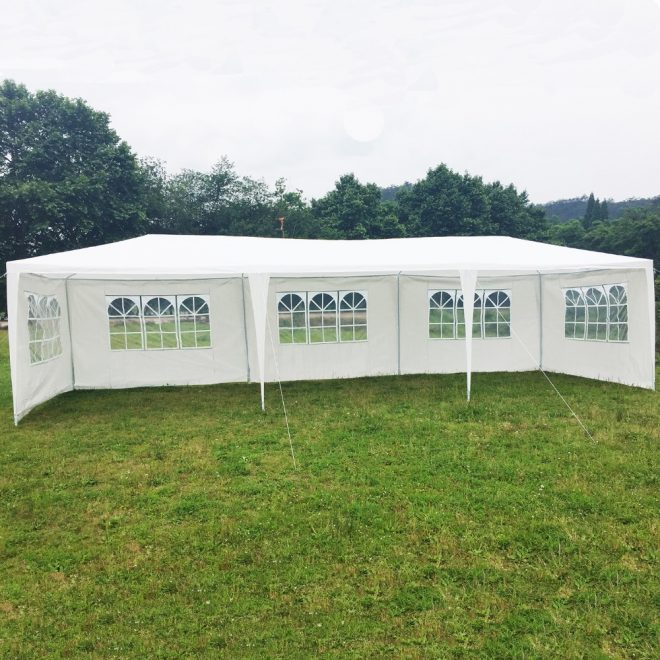 pe fabric white color party tent 10x30 gazebo with sidewall for sale buy outdoor winter party tentbig outdoor party tentmarquee party tent product