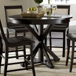 progressive furniture willow round counter height dining table