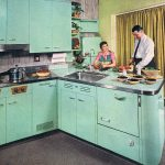 restoring the retro house once upon a time pinterest kitchen