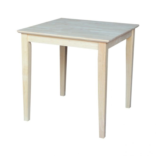 shop international concepts 30 inch unfinished shaker style parawood