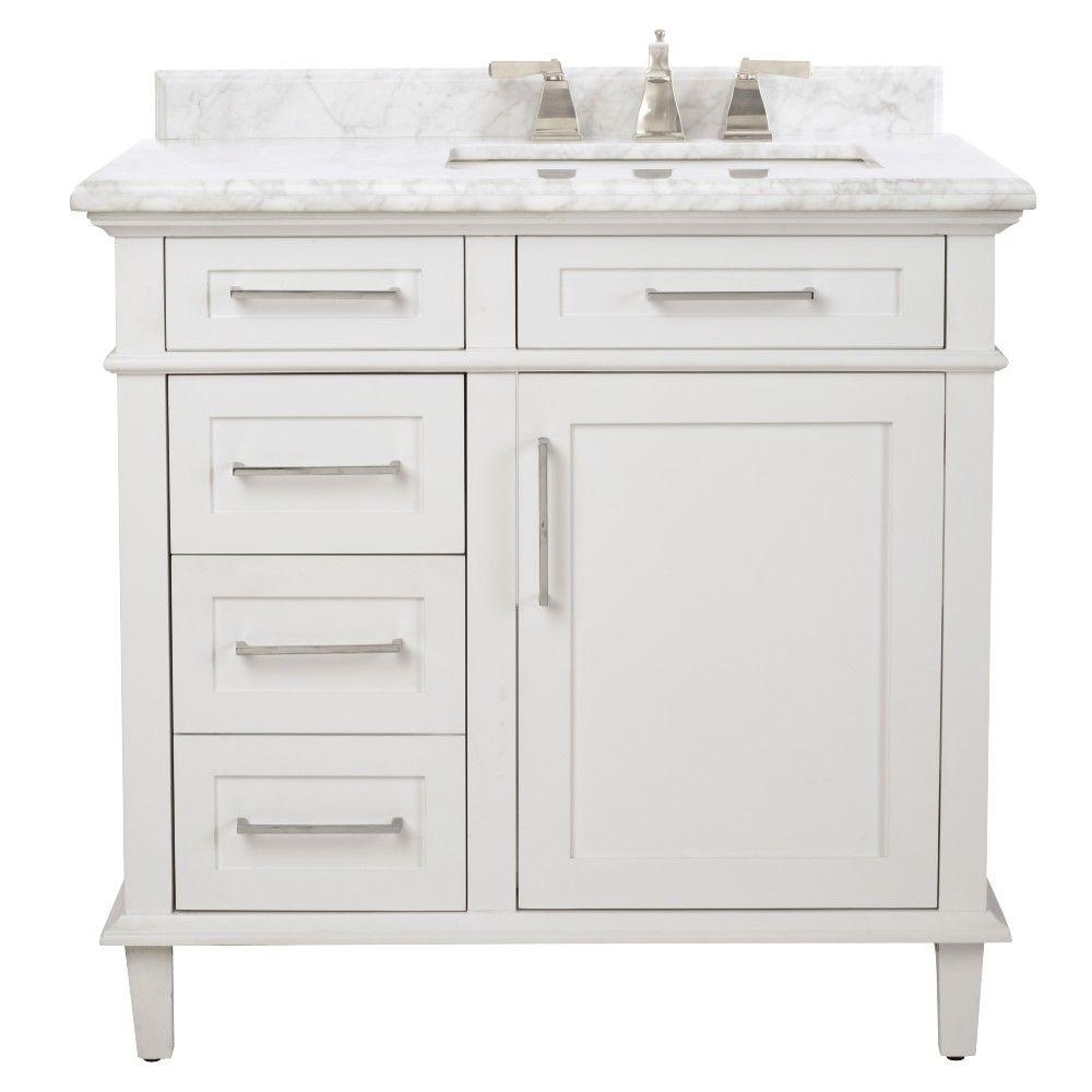 single sink bathroom vanities bath the home depot