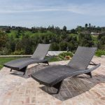 thira outdoor wicker chaise lounge chair set of 2 christopher knight home