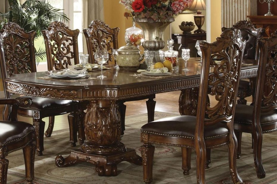 vendome formal dining table