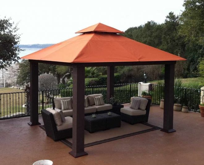 wood gazebos and canopies outdoor canopies fixed leg